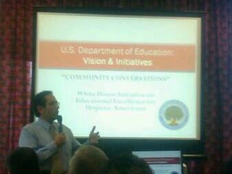 Juan Sepulveda, Executive Director WHI in Educational Excellence for Hispanic Americans
